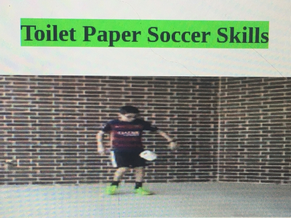TK-3 grade in physical education google classroom learning how to use soccer skills at home 😎